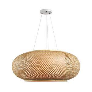 vintage bamboo boho light pendant