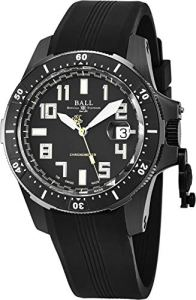 Ball DM2176A-P1CAJ-BK Watch Engineer Hydrocarbon Mens - Black Dial Steel Case Automatic Movement