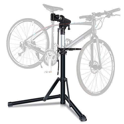 Sportneer Bike Repair Stand, Foldable Bicycle Repair Rack Workstand, Height Adjustable