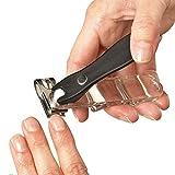 EZ Grip 360 Degree Rotary Stainless Steel Sharp Blade Fingernail Toenail Clipper, Trimmer And Cutter