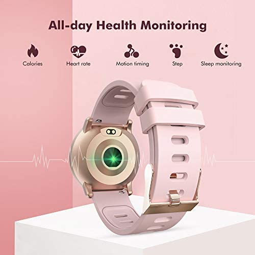 Smart Watch for Android and iOS Phone 2019 Version IP67 Waterproof,UMIDIGI Fitness Tracker Watch with Pedometer Heart Rate Monitor Sleep Tracker,Smartwatch Compatible with iPhone Samsung 6