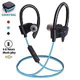 Luisport Wireless Headphones Wireless Earphones Cordless Headphones Wireless Earbuds Bluetooth Headphones Bluetooth Earphones Gym Headphones for Men and Women 6-8 Hours Play