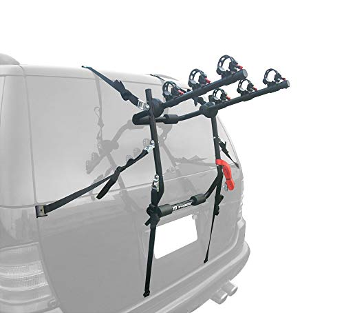 Tyger Auto TG-RK3B203S Deluxe 3-Bike Trunk Mount Bicycle Bike Rack. (Fits Most Sedans/Hatchbacks/Minivans and SUVs.)