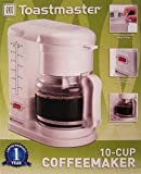 Toastmaster C400 Automatic Drip Coffee Maker, White