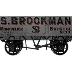 Dapol 7F-052-001W 5 Plank Wagon 9′ Wheelbase S.Brookman 30 Weathered 41VnP3e 2Bz9L