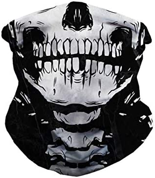 iHeartRaves Seamless Face Masks Mouth Cowl Bandanas for Mud, Open air, Festivals, Sports activities