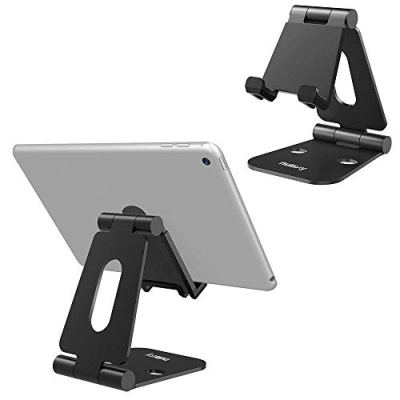 Nulaxy Supporto Telefono, Smartphone Supporto, Universale Tablet Supporto Dock per iPhone XS XS Max XR X 8 7, Nintendo Switch, Huawei, Samsung (Black-Big)
