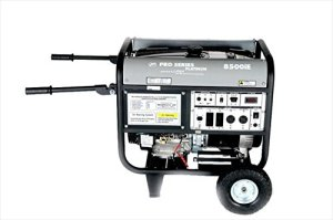 Lifan Platinum Series LF8500iEPL 8500 Watt Comercial/Contractor/Rental Grade 15 HP 420cc OHV Gas Powered Portable Generator with Electric Start and Wheel Kit (CARB Certified)