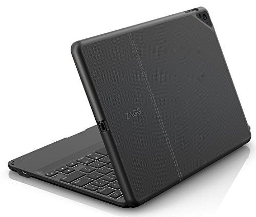ZAGG Folio Case, Hinged with Backlit Bluetooth Keyboard for Apple iPad Pro 9.7-inch - Black