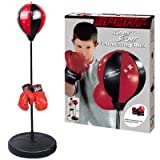 Liberty Imports Sport Boxing Punching Bag With Gloves Punching Ball for Kids 43""