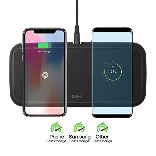 Review: ZENS Dual Wireless Charger - Charger Harbor - Power