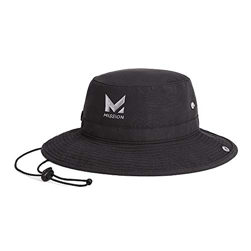 MISSION Cooling Bucket Hat, Black
