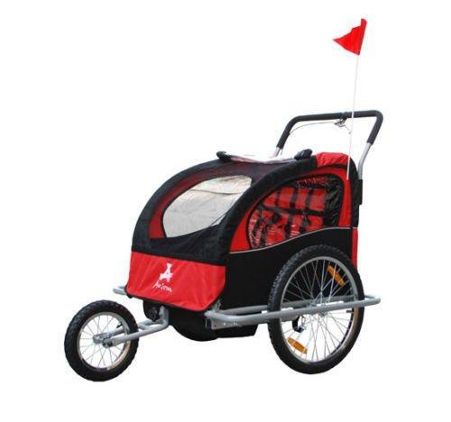 Aosom 5664-0036NEW 2-in-1 Child Bike Trailer and Stroller