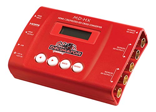 Decimator-MD-HX-HDMI-and-SDI-Cross-Converter-with-Scaling-Frame-Rate-Conversion