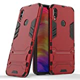 Redmi Note 7 Case DWaybox 2 in 1 Hybrid Armor Hard Back Case Cover with Kickstand Compatible with Xiaomi Redmi Note 7/Redmi Note 7 Pro/Redmi Note 7S 6.3 Inch (Marsala Red)