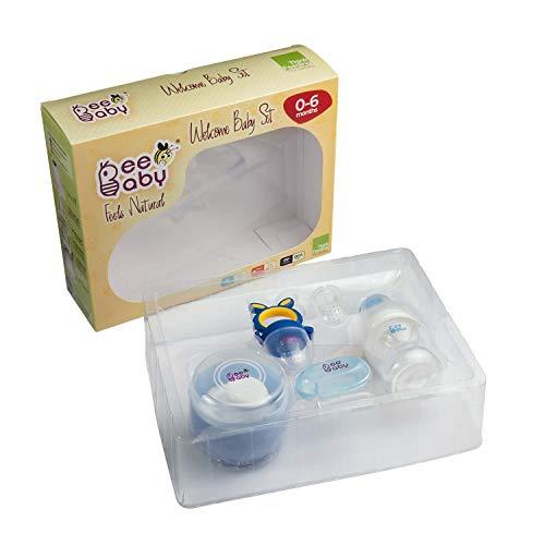 41W7DI9YC7L BeeBaby New child Welcome Child Set/Present Set. 0M+ (Blue)