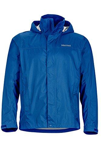 Marmot Men's PreCip Jacket, Blue Sapphire, L