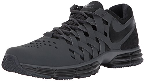 Nike Men's Lunar Fingertrap Cross Trainer, Anthracite/Black, 10.0 Regular US