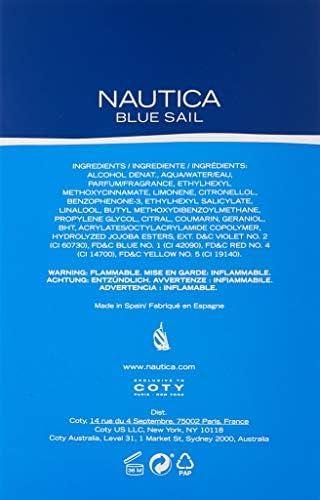 41WC%2BagmPbL. AC  - Nautica Eau de Toilette para Hombre, Blue, 100 ml de Oferta en Amazon
