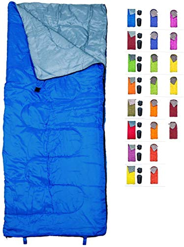 REVALCAMP Lightweight Blue Sleeping Bag Indoor & Outdoor use. Great for...