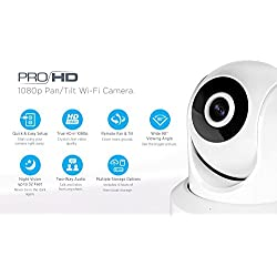 Amcrest ProHD 1080P WiFi Wireless IP Security Camera - 1080P (1920TVL), IP2M-841 (White)