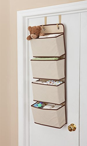 Delta-Children-4-Pocket-Over-The-Door-Hanging-Organizer-Easy-StorageOrganization-Solution-Versatile-and-Accessible-in-Any-Room-in-the-House-Beige