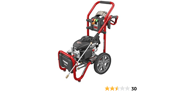 Husky Hu80722 2600 Psi Pressure Washer