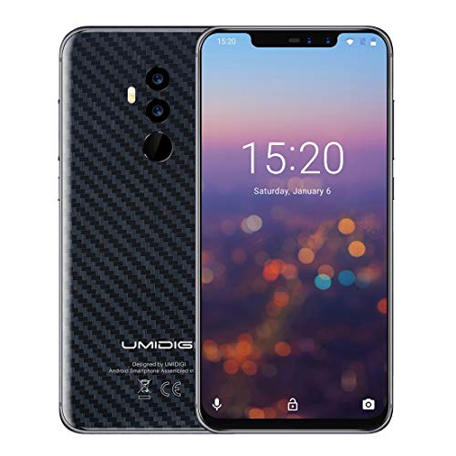 UMIDIGI Z2 Special Edition 4GB+64GB 6.2 inch Android 8.1 MTK6763 (Helio P23) Octa Core up to 2.0GHz GSM & WCDMA & FDD-LTE (Carbon Fiber Black)