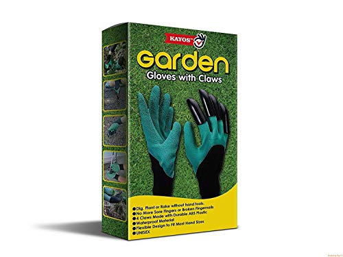 Kayos Garden Gloves with Claws for Digging & Planting 6