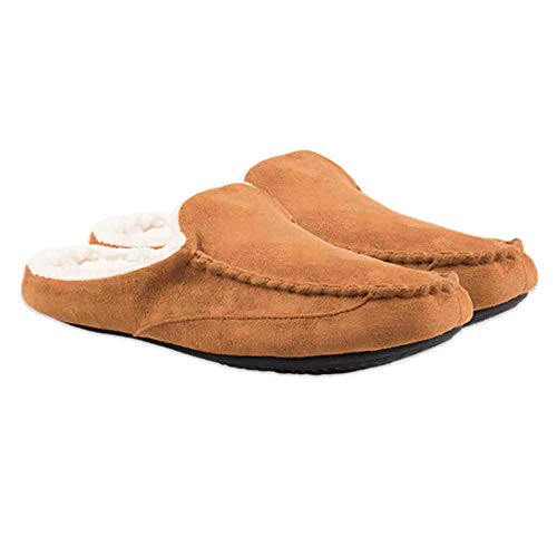 Life is Good Men's Cozy Slide Slippers