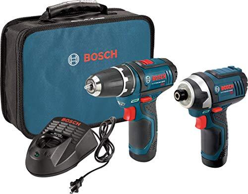 Bosch Power Tools Combo Kit CLPK22-120 - 12-Volt Cordless Tool Set...