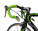Sprintech Road Drop Bar Rearview Mirror, Green Pair, Best Bike Safety Mirror on The Market, Universal Fit for Bike Drop Bars