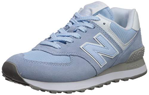 New Balance Women's 574v2 Sneaker, air Nubuck/White, 8.5 D US