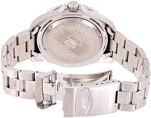Invicta Men's Pro Diver Quartz Diving Watch with Stainless-Steel Strap, Silver, 22 (Model: 22823) 2