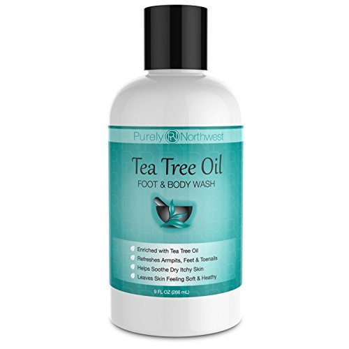 Antifungal Tea Tree Oil Body Wash, Helps Athletes...