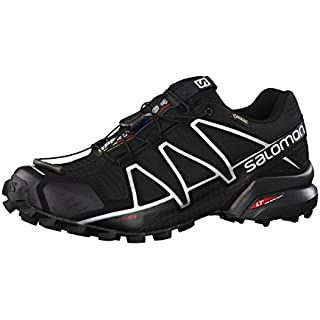 Salomon Men's Speedcross 4 GTX Trail Running Shoes How Often To Replace Running Shoes]