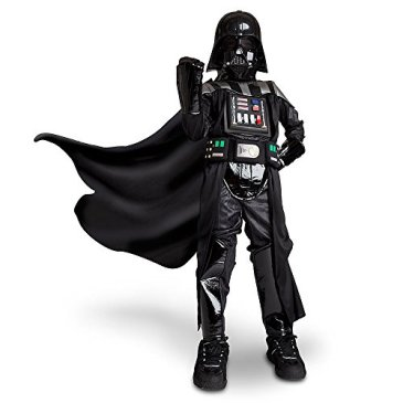 Disney Store Light Up Darth Vader Halloween Costume Size 13