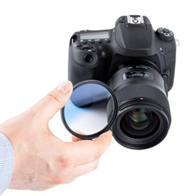 46MM-Ultimaxx-Professional-Six-Piece-Gradual-Color-Filter-Kit-Orange-Yellow-Blue-Purple-Red-Grey-for-Camera-Lens-with-46MM-Filter-Thread-and-Protective-Filter-Pouch