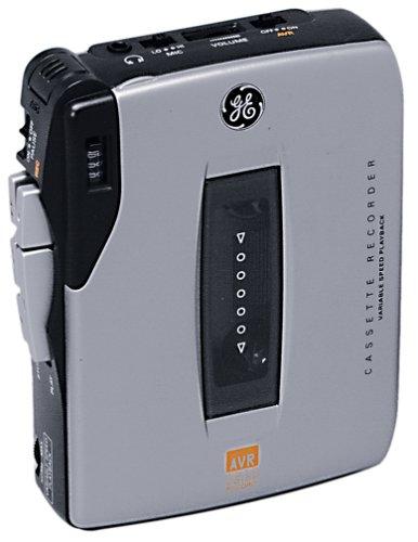 GE 35364 Mini Cassette Recorder (Silver)