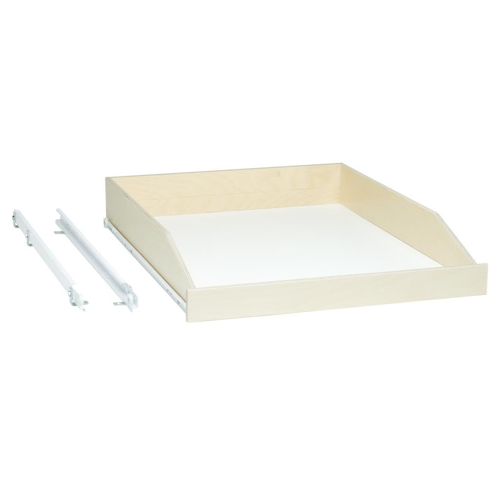Slide A Shelf Sas Std L B Made To Fit Slide Out Shelf 3  To 36 Wide And  To 24 Deep Poly Finished Birch Fronts