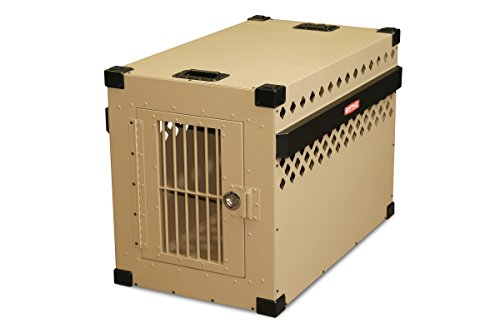 Impact Dog Crate (Stationary), 450 Model, X-Large, Customer Assembled, TAN in Color
