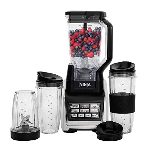 Nutri Ninja Personal and Countertop Blender with 1200-Watt...