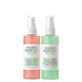 Mario Badescu Facial Spray Herbs/Rosewater and Cucumber/Green Tea (Pack of 2)