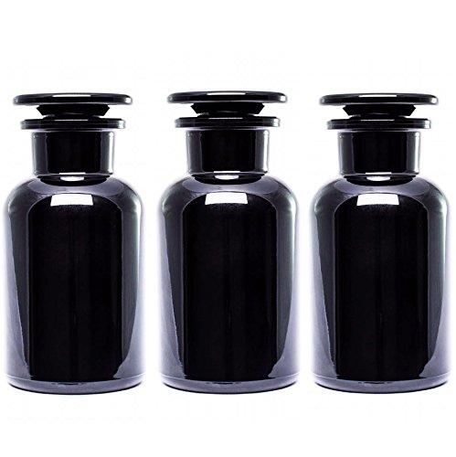 UltravioLeaf Glass Apothecary Jar 250ml