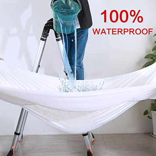 Edilly Full Size Waterproof Mattress Pad Protector