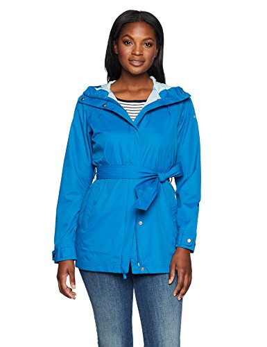 819UWAhtNoL OMNI-SHIELD SHELL 100% nylon; LINING CORE 100% polyester; LINING SLEEVES 100% nylon 210T taffeta Adjustable belt, cuff tabs , hood Back venting system and Omni-Shield advanced repellency