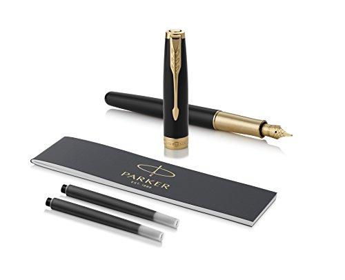 Parker Sonnet Black Lacquer Fountain Pen