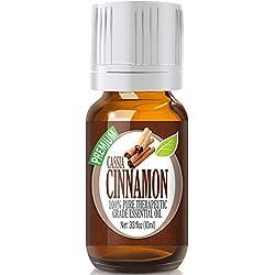 Cassia Cinnamon - 100% Pure, Best Therapeutic Grade Essential Oil - 10ml