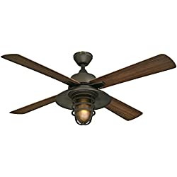 """Westinghouse Lighting 7204300 Indoor/Outdoor Ceiling Fan, 52"""", Oil Rubbed Bronze Finish"""