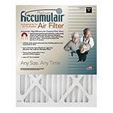 Accumulair Platinum 20x23x1 (Actual Size) MERV 11 Air Filter/Furnace Filters (4 pack)